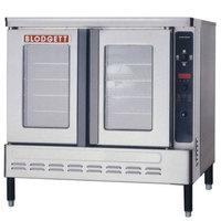 Blodgett DFG-100-ES Premium Series Natural Gas Additional Unit Full Size Convection Oven - 45,000 BTU