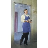Curtron M106-PR-4786 47 inch x 86 inch Polar Reinforced Step-In Refrigerator / Freezer Strip Door