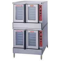 Blodgett Mark V-100 Xcel Double Deck Full Size Electric Convection Oven - 22 kW