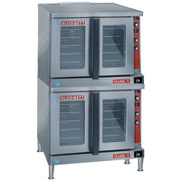 Blodgett Mark V-200 Premium Series Double Deck Bakery Depth Full Size Electric Convection Oven - 220/240V, 3 Phase, 22 kW