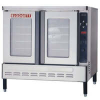 Blodgett DFG-200 Premium Series Additional Unit Full Size Bakery Depth Gas Convection Oven - 60,000 BTU