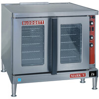 Blodgett Mark V-200 Premium Series Single Deck Roll-In Model Bakery Depth Full Size Electric Convection Oven - 11 kW