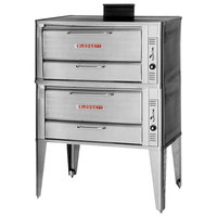 Blodgett 951 Gas Double Deck Oven with Draft Diverter - 76,000 BTU