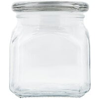 Anchor Hocking 85975 10 oz. Glass Emma Jar with Glass Lid