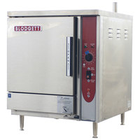 Blodgett SBF-3E 3 Pan Boiler Free Electric Countertop Steamer - 208V, 3 Phase, 9 kW