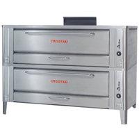 Blodgett 1060 Liquid Propane Double Pizza Deck Oven with Draft Diverter - 170,000 BTU