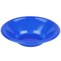 Creative Converting 28314751 12 oz. Cobalt Plastic Bowl - 20 / Pack