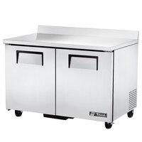 True TWT-48F-HC 48 inch Two Door Worktop Freezer