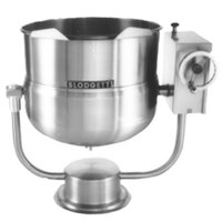 Blodgett KPT-60DS 60 Gallon Direct Steam Tilting Pedestal Base Steam Jacketed Kettle