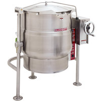 Blodgett KLT-60DS 60 Gallon Direct Steam Tilting Quad-Leg Steam Jacketed Kettle