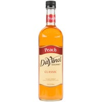 DaVinci Gourmet 750 mL Classic Peach Flavoring / Fruit Syrup