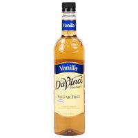 DaVinci Gourmet 750 mL Sugar Free Classic Vanilla Flavoring Syrup
