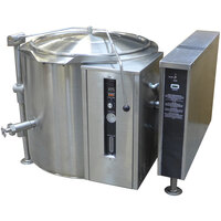 Blodgett KLT-40GS 40 Gallon Short Height Tilting Quad-Leg Gas Steam Jacketed Kettle - 125,000 BTU