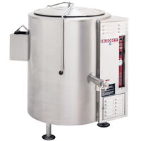 Blodgett KLS-60G 60 Gallon Stationary Tri-Leg Steam Jacketed Gas Kettle - 130,000 BTU