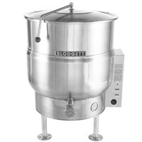 Blodgett KLS-20E 20 Gallon Stationary Tri-Leg Steam Jacketed Electric Kettle - 12 kW