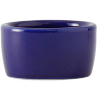 Greenware by Tuxton BCX-0203 Cobalt 2 oz. Smooth Pipkin Ramekin - 48/Case