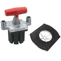 Vollrath 15087 Redco 6 Section Core T-Pack for Vollrath Redco InstaCut 3.5 - Tabletop Mount