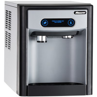 Follett 7CI100A-IW-CF-ST-00 7 Series 14 5/8 inch Air Cooled Chewblet Countertop Ice Maker and Water Dispenser with Filter - 7 lb.