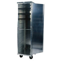 Win-Holt EC1840-C/LD 40 Pan End Load Enclosed Bun / Sheet Pan Rack with Clear Acrylic Door - Assembled