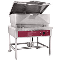 Blodgett BLP-40G Natural Gas 40 Gallon Power Tilt Braising Pan / Tilt Skillet - 100,000 BTU
