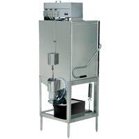 CMA Dishmachines S-AH Tall Single Rack Low Temperature, Chemical Sanitizing Straight Dishwasher - 115V