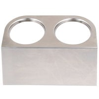 Steril-Sil HKS-2 2-Hole Cantilever Flatware Cylinder Holder