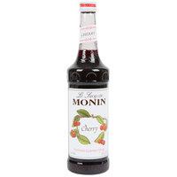 Monin 750 mL Premium Cherry Flavoring / Fruit Syrup