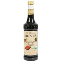 Monin 750 mL Organic Chocolate Flavoring Syrup