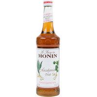 Monin 750 mL Premium Macadamia Nut Flavoring Syrup
