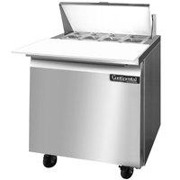 Continental Refrigerator SW32-8C 32 inch Cutting Top Sandwich / Salad Prep Refrigerator