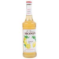 Monin 750 mL Premium Lemon Flavoring Syrup