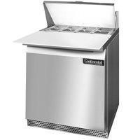 Continental Refrigerator SW27-8C-FB 27 inch Front Breathing Cutting Top Sandwich / Salad Prep Refrigerator