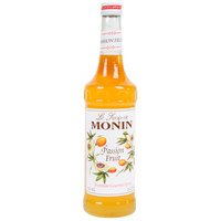 Monin 750 mL Premium Passion Fruit Flavoring / Fruit Syrup
