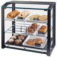 Cal-Mil 3493-13L Black Large Bakery Display Case - 29 inch x 17 inch x 29 inch