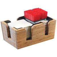 Cal-Mil 3499-60 Bamboo Bar Caddy - 10 3/4 inch x 7 inch x 4 3/4 inch