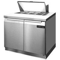 Continental Refrigerator SW36-8-FB 36 inch Front Breathing Sandwich / Salad Prep Refrigerator