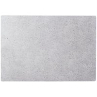 Cal-Mil 1522-1014-77 14 inch x 10 inch Rectangular Faux Cement Serving Platter