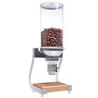Cal-Mil 3513-2-98 Beechwood Turn and Serve 2 Cylinder Cereal Dispenser - 20 inch x 11 inch x 31 inch