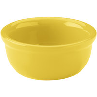 Hall China 30413320 Sunflower 8 oz. Colorations Baking Bowl 24 / Case