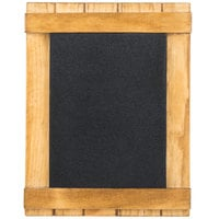 Cal-Mil 3489-46-99 4 inch x 6 inch Madera Chalkboard Stand