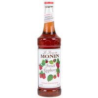 Monin 750 mL Premium French Raspberry Flavoring / Fruit Syrup