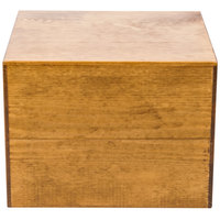 Cal-Mil 432-9-99 Madera Reclaimed Wood Square Riser - 12 inch x 12 inch x 9 inch