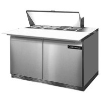 Continental Refrigerator SW48-10C-FB 48 inch Front Breathing Cutting Top Sandwich / Salad Prep Refrigerator