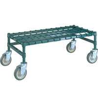Metro MHP33K3 36 inch x 18 inch x 14 inch Heavy Duty Mobile Metroseal 3 Dunnage Rack with Wire Mat - 800 lb. Capacity