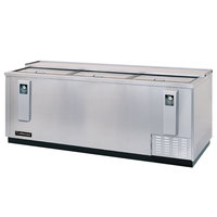 Continental Refrigerator CBC95-SS 95 inch Stainless Steel Horizontal Bottle Cooler