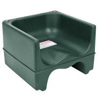 Cambro 200BC519 Plastic Booster Seat - Dual Seat - Green
