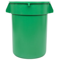 32 Gallon Green Trash Can