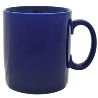 10 Strawberry Street XLBRL-CBLT 26 oz. Cobalt Oversized Barrel Mug - 12 / Case