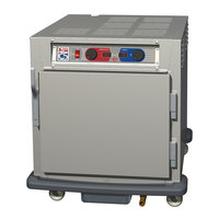 Metro C593L-SFS-U C5 9 Series Undercounter Heated Holding and Proofing Cabinet - Solid Door