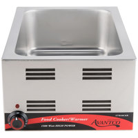 Avantco W50CKR 12 inch x 20 inch Electric Countertop Food Cooker / Warmer - 120V, 1500W